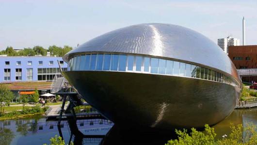 Das Bremer Science Center von außen