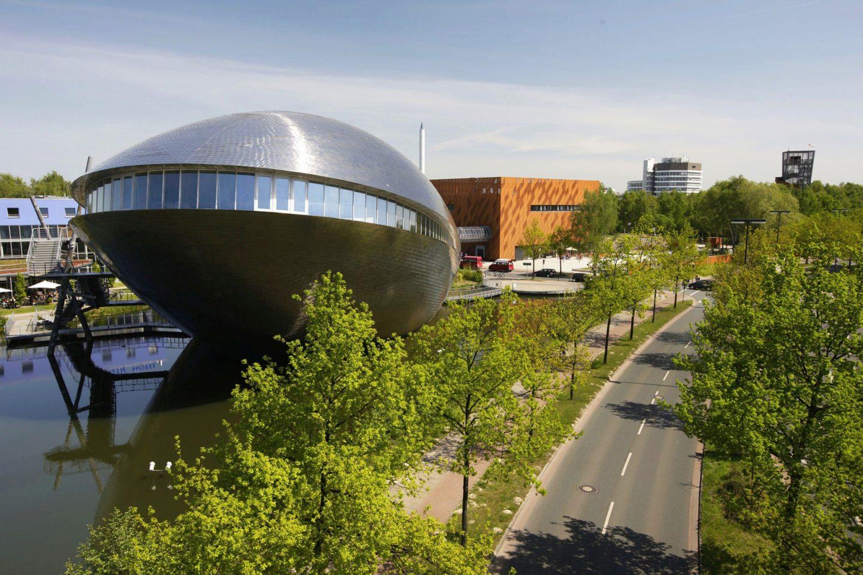 Dauerausstellungsgebäude des Universum® Bremen