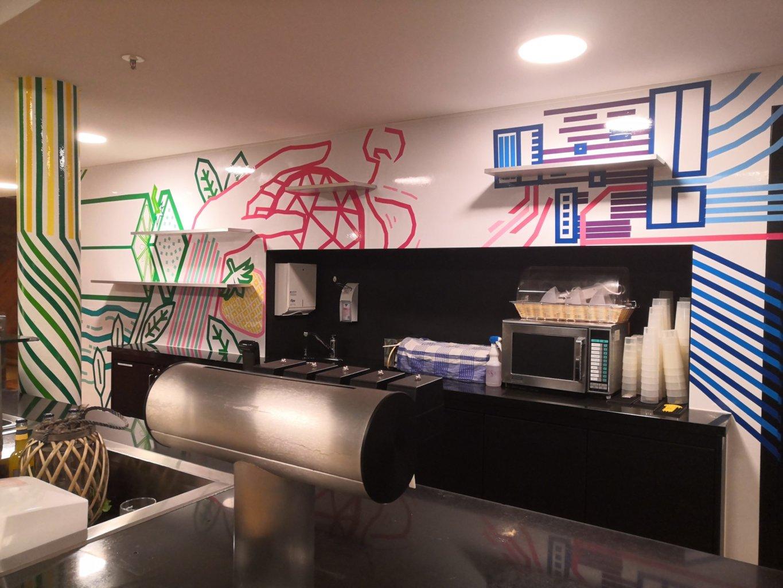 Café Jonas im Universum Bremen